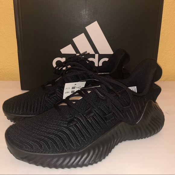 037e55247631 Adidas AlphaBounce Trainer Core Black